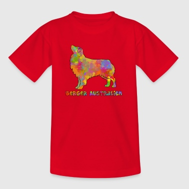 Australian Shepherd Multi - T-shirt barn