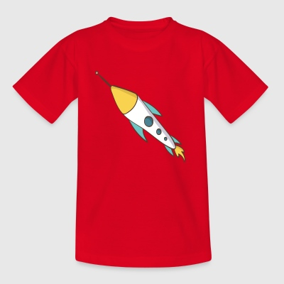 Rakete - Kinder T-Shirt