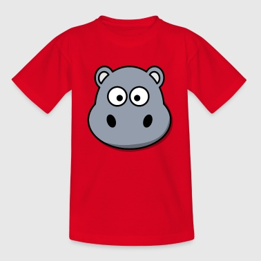 hippo - Kids' T-Shirt