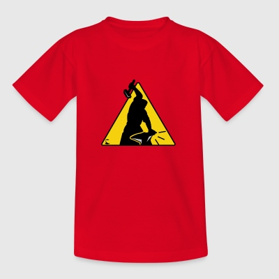 construction - T-shirt Enfant