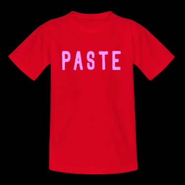 Paste (Girl) - Kinder T-Shirt