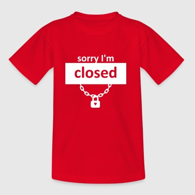 heartclosed wite - T-shirt barn