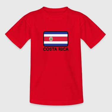 National Flag Of Costa Rica - Kids' T-Shirt