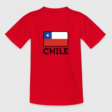 National Flag Of Chile - Kids' T-Shirt