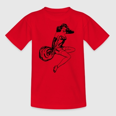 Pinup Girl - Kids' T-Shirt