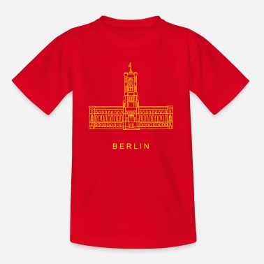 Town Hall Red City Hall Berlin - Kids' T-Shirt