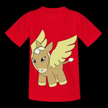 ezel Cartoon - Kinderen T-shirt