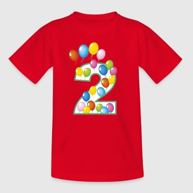 second birthday 2 - Kids' T-Shirt