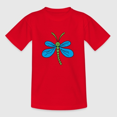 dragonfly - T-shirt barn