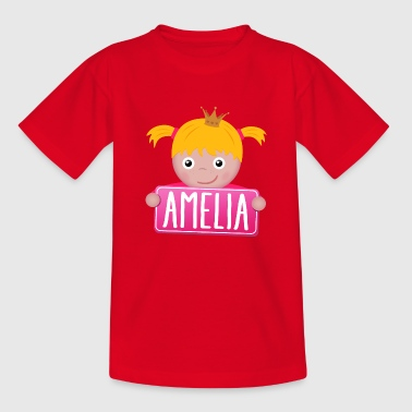 Little Princess Amelia - Kinderen T-shirt