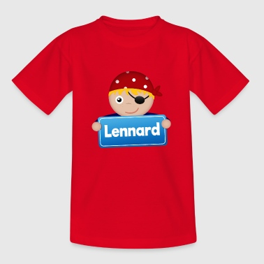 Little Pirate Lennard - T-shirt barn