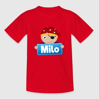Little Pirate Milo - Kids' T-Shirt