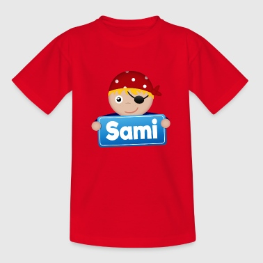 Little Pirate Sami - Kids' T-Shirt
