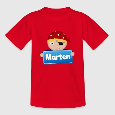 Little Pirate Marten - Kids' T-Shirt