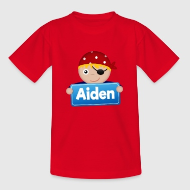 Little Pirate Aiden - T-shirt barn
