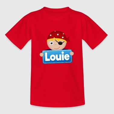 Little Pirate Louie - T-shirt barn