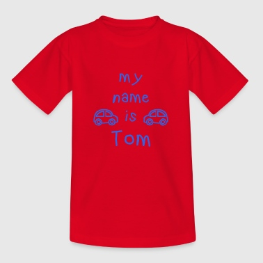 TOM MY NAME IS - T-shirt Enfant