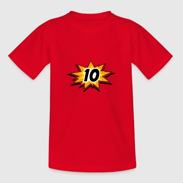 Birthday child - 10 years - Kids' T-Shirt