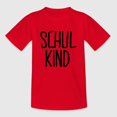 schulkind - Kinder T-Shirt