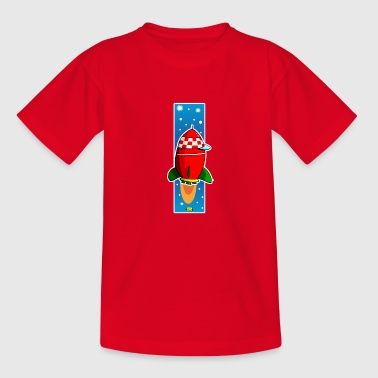 Rakete copy2 - Kinder T-Shirt