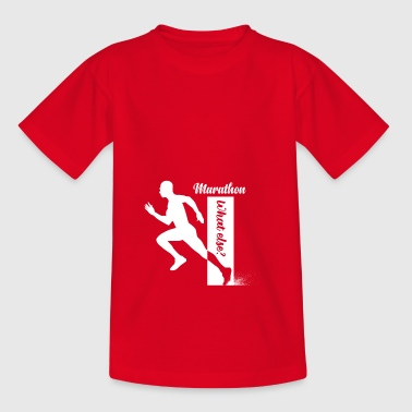 marathon whatelse - Kinderen T-shirt