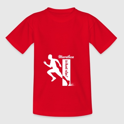 marathon what else - Kids' T-Shirt