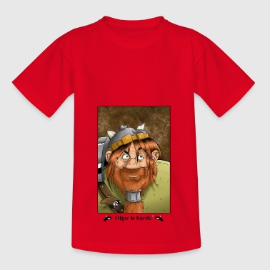 Dwarf portrait - Kids' T-Shirt