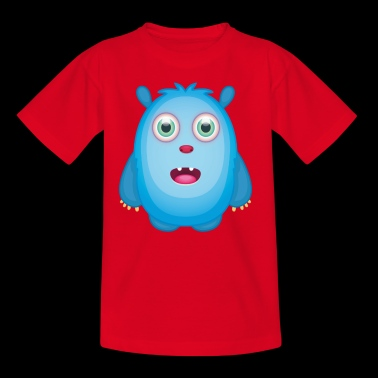 Emily - Blue Monster protector - Camiseta niño