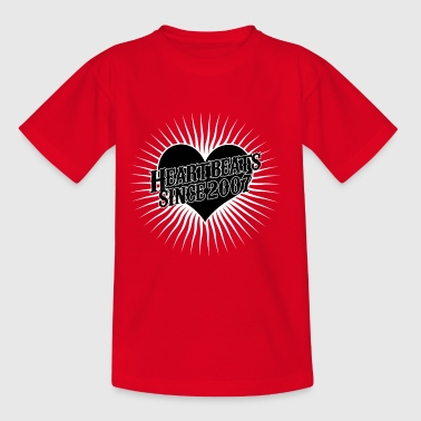 Heartbeats for the year 2007 - Kids' T-Shirt