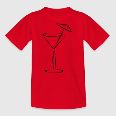 Cocktail with umbrella - Kids' T-Shirt