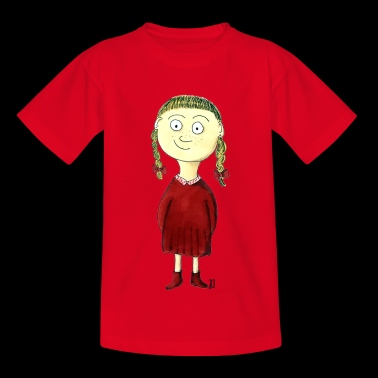 Martha with the braids - Kids' T-Shirt