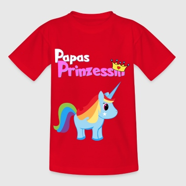 Papas Princesse - T-shirt Enfant