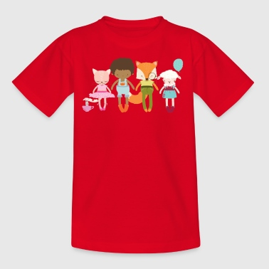 Finley + friends - Kids' T-Shirt
