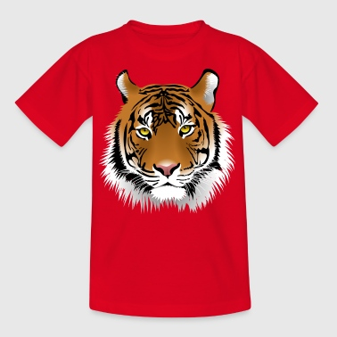 tiger - T-skjorte for barn