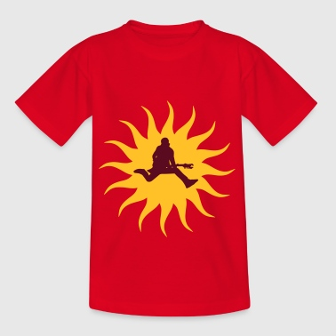 Rocking Sun - Kids' T-Shirt