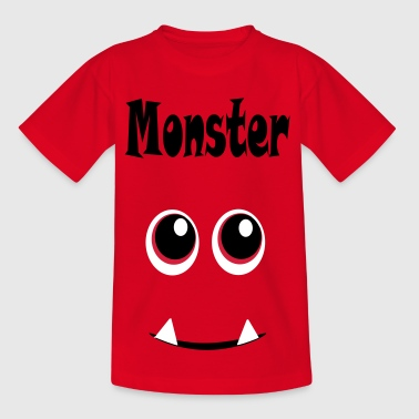 monsters a - Kids' T-Shirt