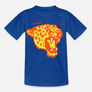 Impresión Plot Leopardo rugiendo por Cheerful Madness!! - Camiseta adolescente
