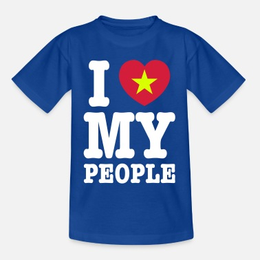 Vietcong I Heart (Love) My Viet People - Teenage T-Shirt