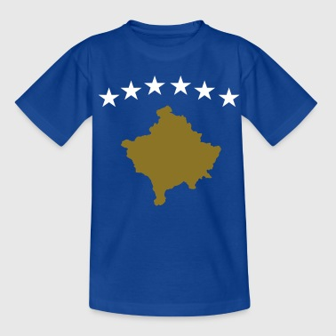 Kosovo Flag - Teenager-T-shirt