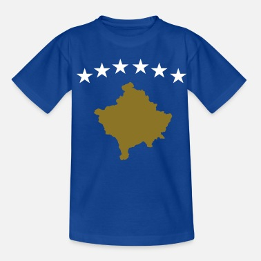 Flamuri Kosovo Flag - Teenager T-Shirt