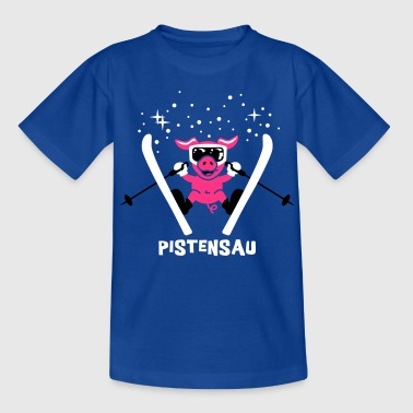 Pistensau Text 3C - Teenager T-Shirt