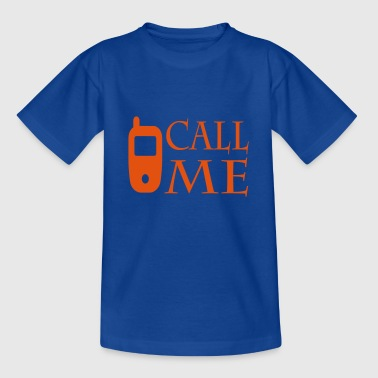 Call me - Camiseta adolescente