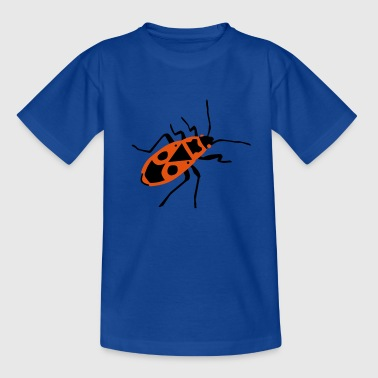 Fire beetle - insect - Firebug - Teenage T-shirt