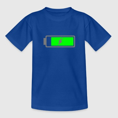 Battery recharging - Teenage T-Shirt