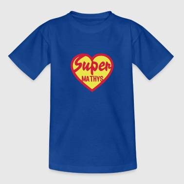 mathys super coeur heart love - T-shirt Ado