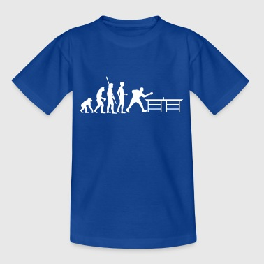 evolution_table_tennis_a - Teenager T-shirt