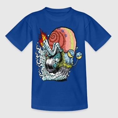 Teenagers' Shirt SpongeBob Snail Gary Gary - T-skjorte for tenåringer