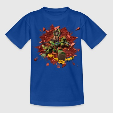 Teenage Shirt TURTLES 'Out of our way!' - Nuorten t-paita