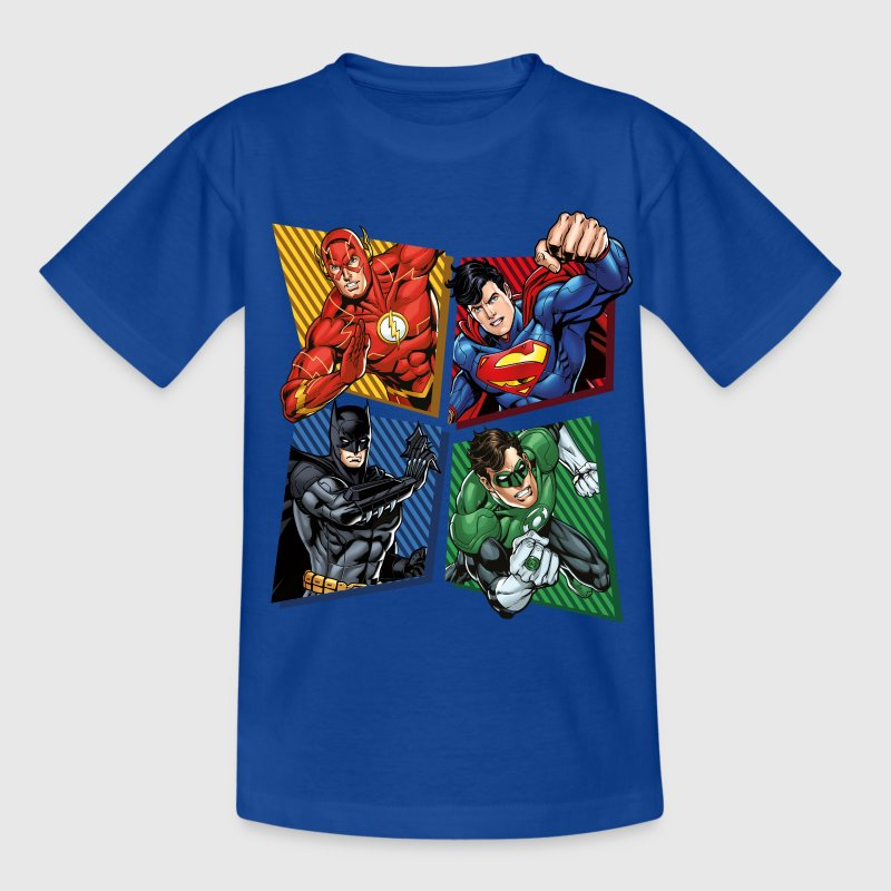 DC Comics Justice League Superhelden - Teenager T-Shirt