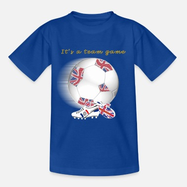 Gb Supporters Team Game GB kids - Teenage T-Shirt